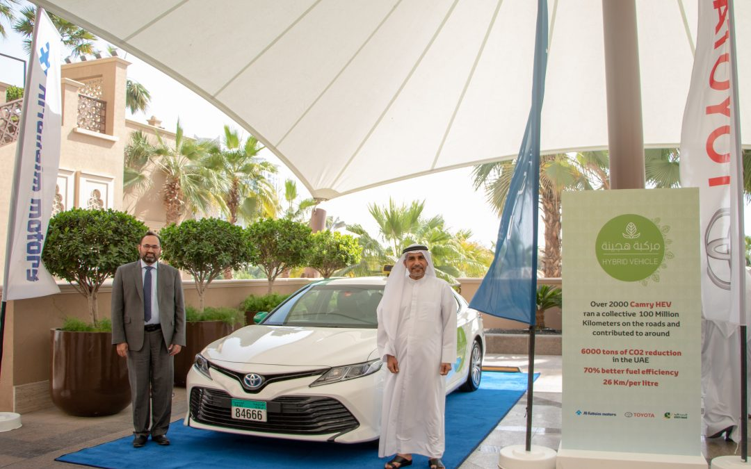 Sharjah's Citi Taxi goes green