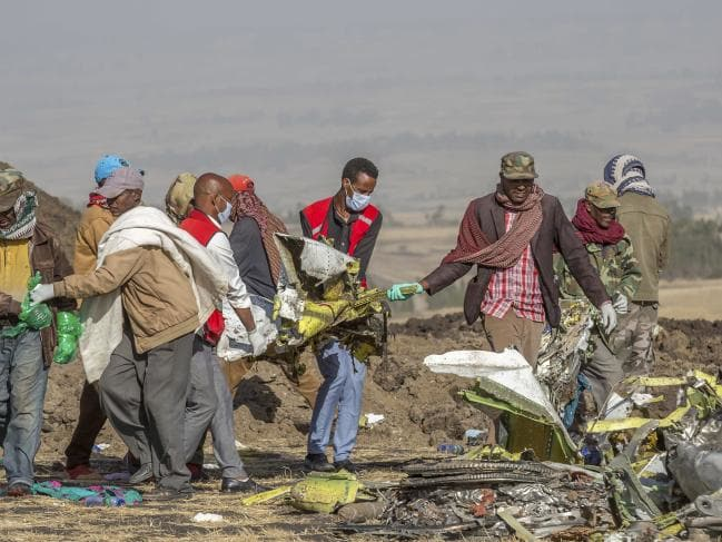 Black box found among wreckage of doomed Ethiopian Airlines plane