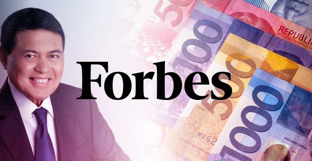 Manny Villar is now Philippines' richest man
