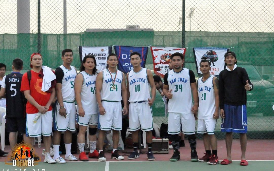 Pinoys' love for basketball knows no boundaries