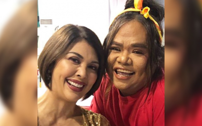 Pops Fernandez posts photo of Chokoleit minutes before his final performance