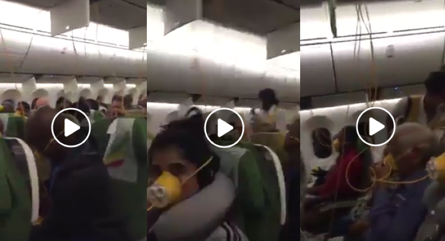 Is this video the final moments of doomed Ethiopian Airlines flight?
