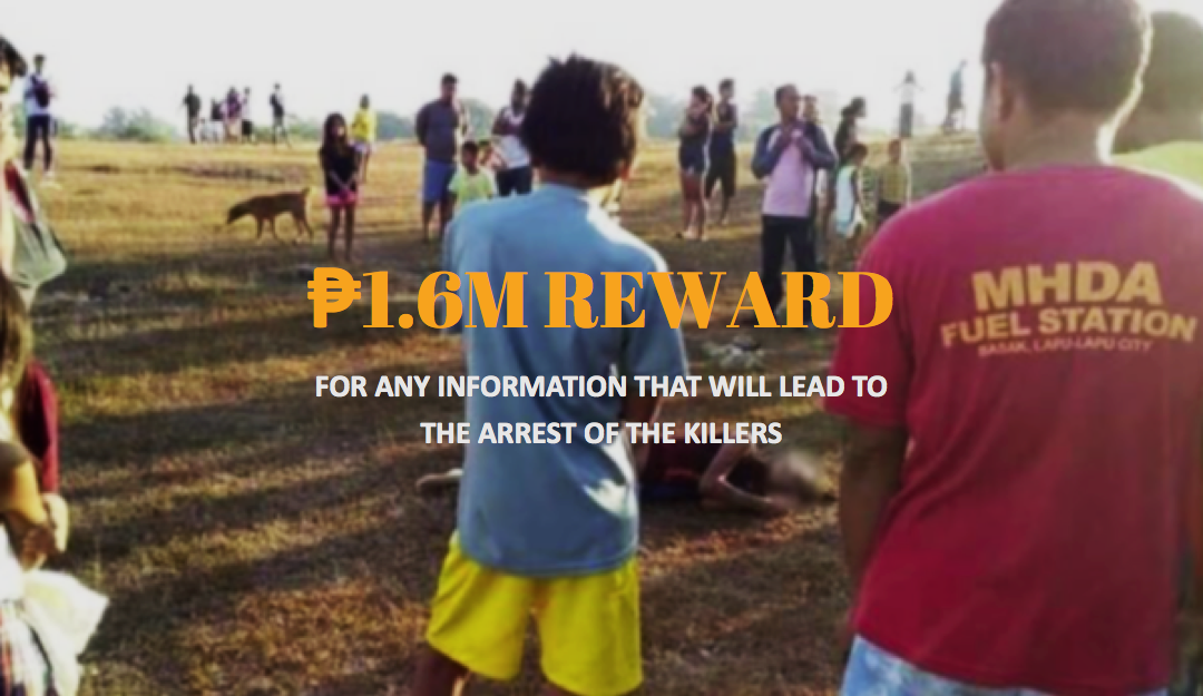 Reward money to help solve teen's brutal murder in Lapu-Lapu now at P1.6 million