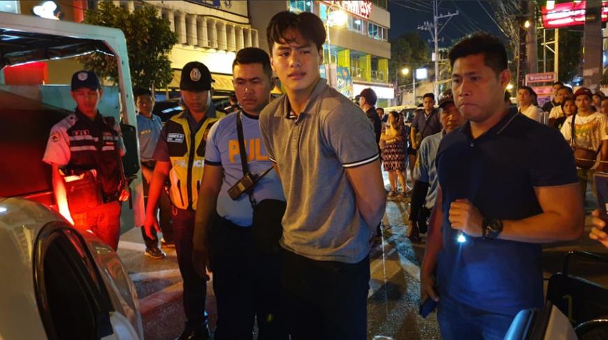 Migo Adecer released after posting bail