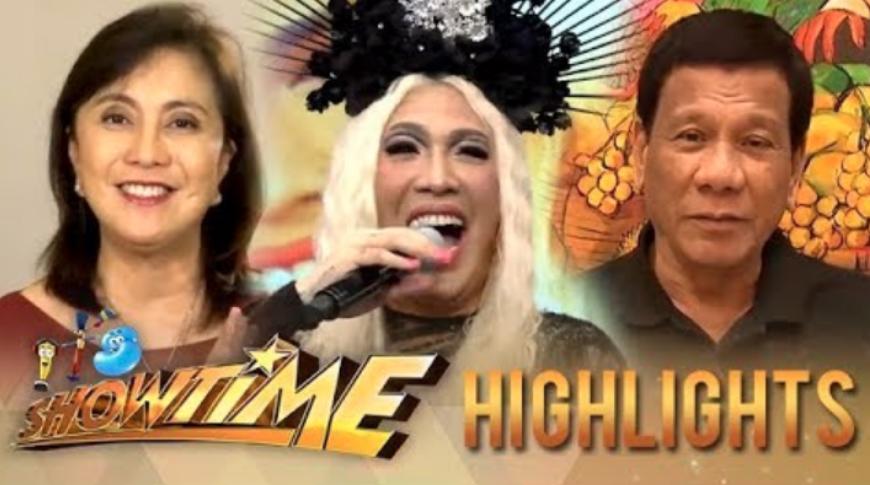 Vice Ganda receives birthday greeting from Pres. Duterte, VP Robredo