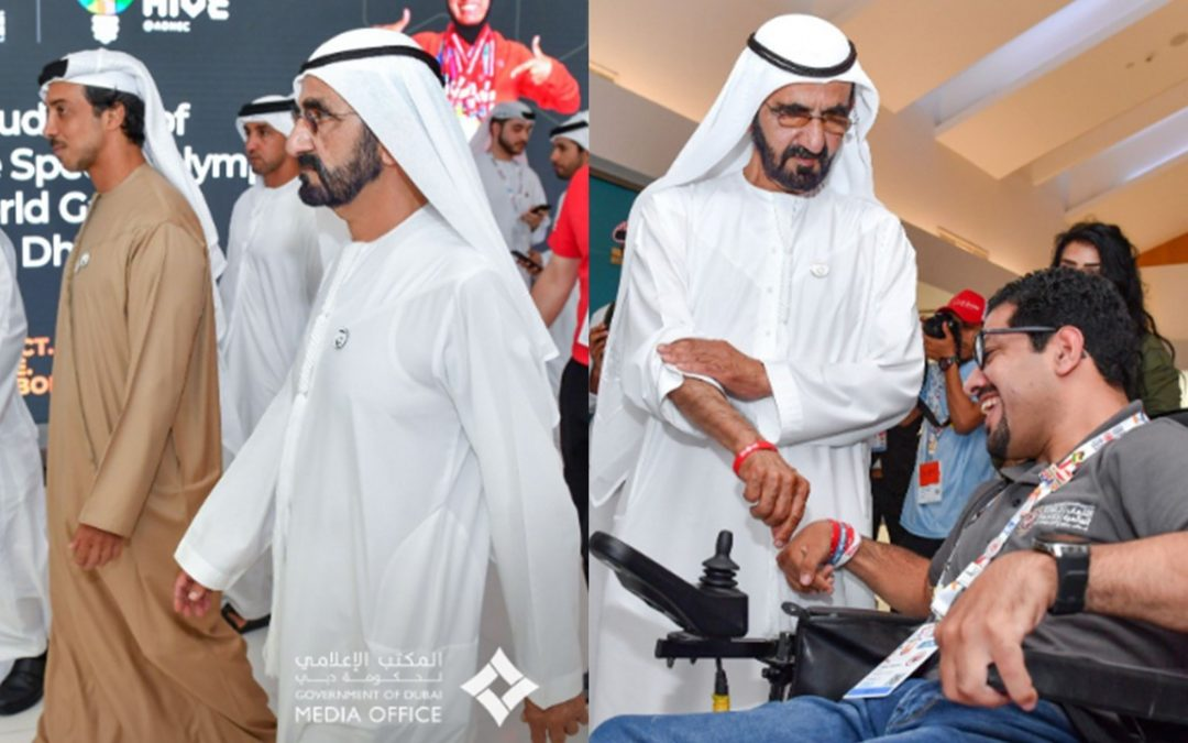 VP attends Special Olympics World Games 2019