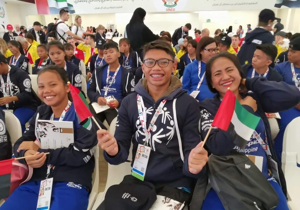 LOOK: Philippine delegation to Special Olympics World Games Abu Dhabi 2019 arrives in UAE