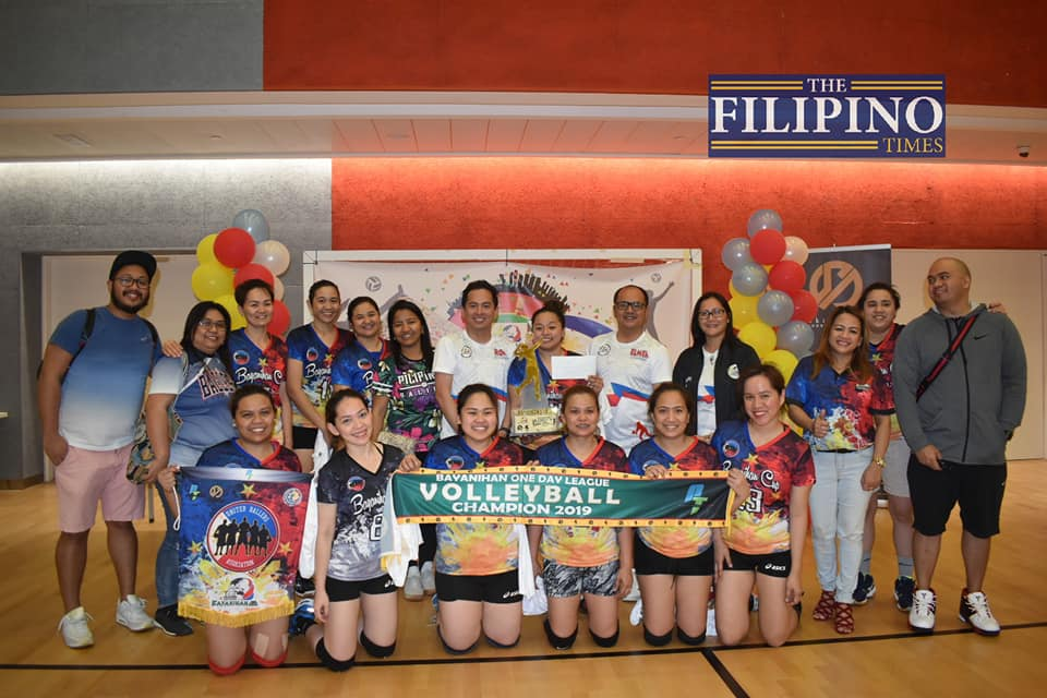 UBA hailed as champions at Bayanihan Women's Volleyball Cup 2019