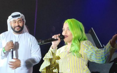 WATCH: KZ Tandingan performs heartwarming duets with Filipinos, Emirati in UAE