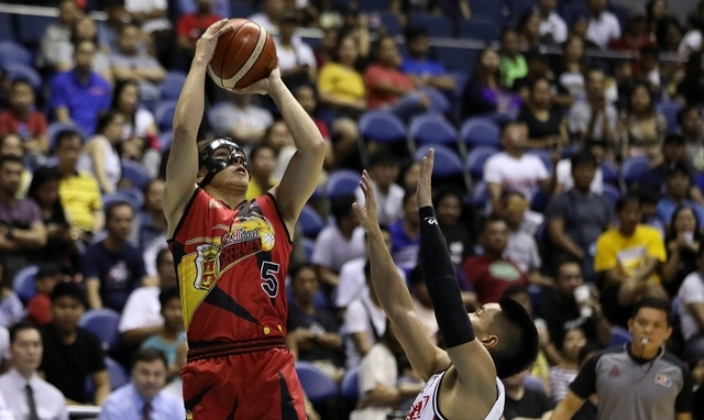 San Miguel ends elimination round the feel-good way