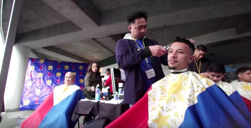 Pinoy barbers stop use of PH flag as barber cape following online backlash