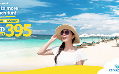 Fly home this summer with Cebu Pacific for as low as Dh 395