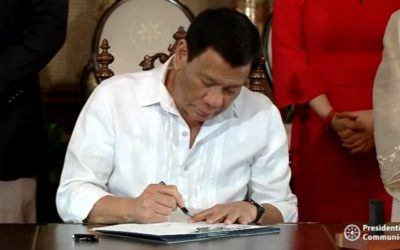 Duterte signs 'Tulong-Trabaho Act' for free access to techvoc education