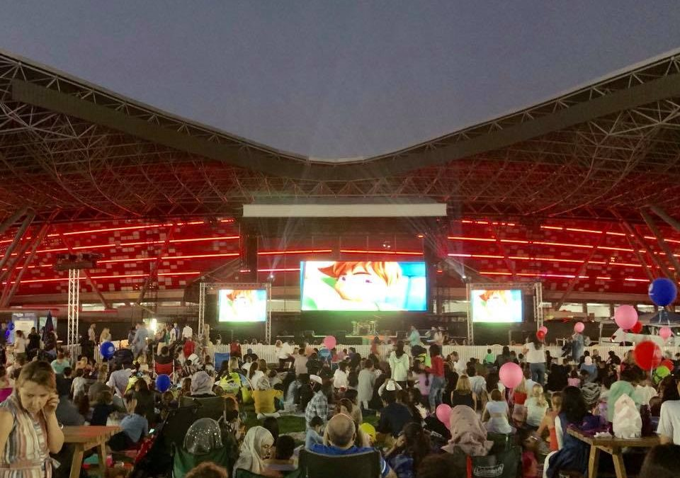 Watch movies for free in Abu Dhabi this April