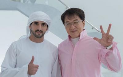 LOOK: Jackie Chan meets Dubai Crown Prince