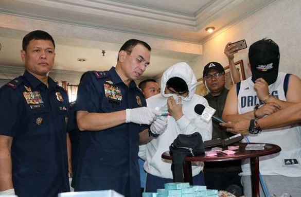 GrabExpress driver thwarts P1.5-M party drug shipment in Makati