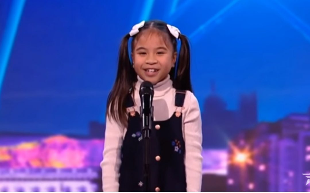 "8-year-old Filipina singer stuns judges on ""Ireland's Got Talent"""