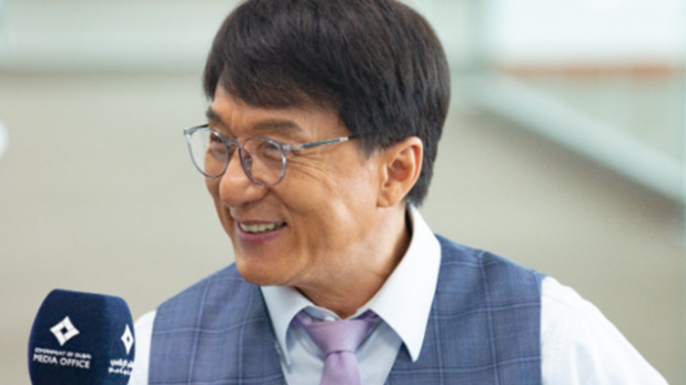 Jackie Chan arrives in Dubai to start filming new movie