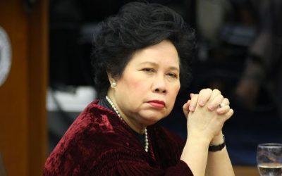 Malacañang says Miriam Santiago's election as ICC judge 'void'
