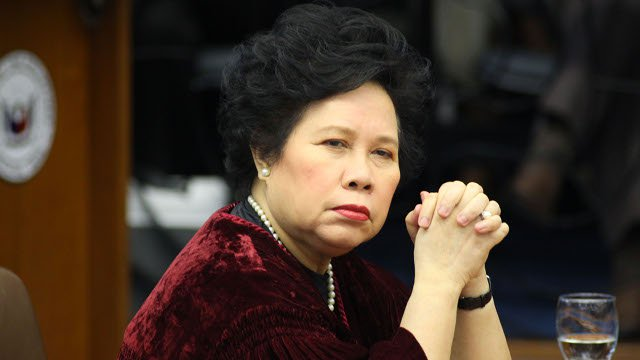Malacañang says Miriam Santiago's election as ICC judge 'void'