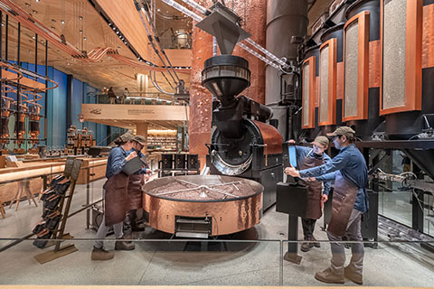 Where in the world: The biggest Starbucks roastery opens