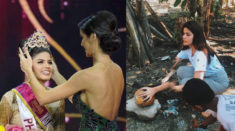 LOOK: Pinay beauty queen shares photos of simple life in province