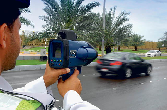 Sniper radar records 170 traffic violations daily