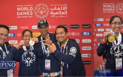 3 Filipinos bring home the Philippines first gold medals for Special Olympics World Games