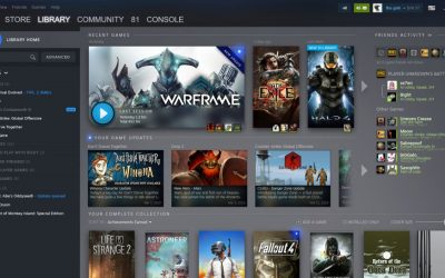 Gaming platform Steam gets new look this 2019