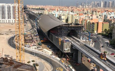 WATCH: Dubai Metro's Route 2020 is nearly complete