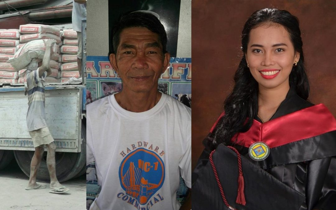 "VIRAL: Filipina achieves dream of becoming a teacher thanks to her ""kargador"" father"