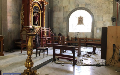 Centuries-old Porac church damaged by the earthquake