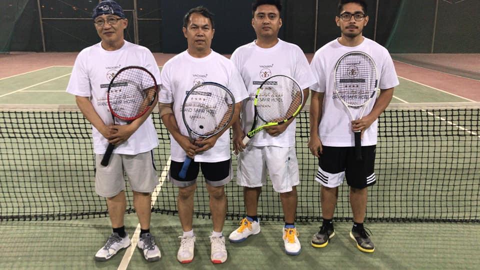 Filipino tennis tournament kicks off in Bahrain