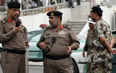 Saudi police arrest 13 people involved in foiled terror attack