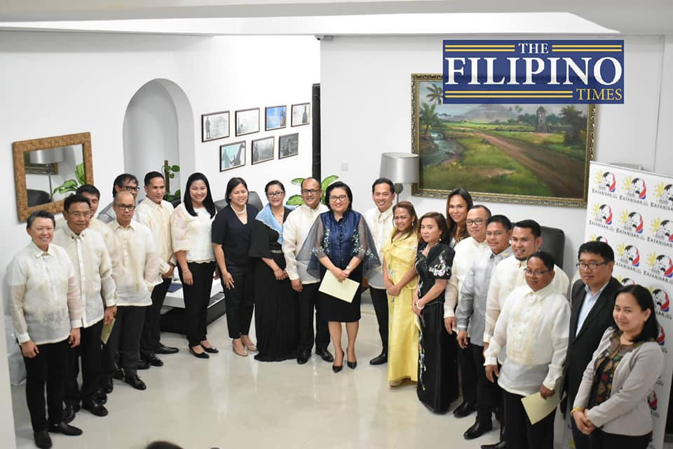 Bayanihan Council Abu Dhabi holds oathtaking ceremony for 2019-2020 officers