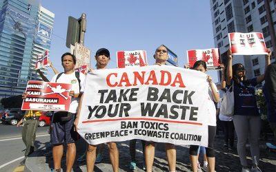 Canada vows to resolve garbage, mum on Duterte's 'war' threat