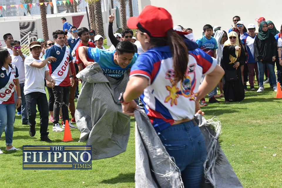 Bayanihan Abu Dhabi celebrates classic Filipino games at Family Fun Day 2019