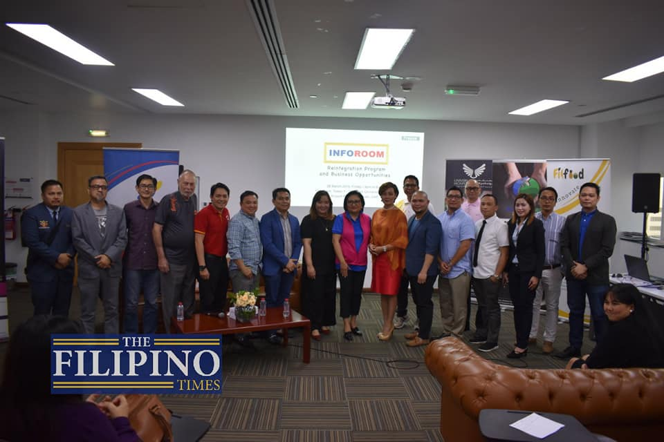 Philippine Business Council Abu Dhabi hosts Inforoom session on reintegration, business opportunities