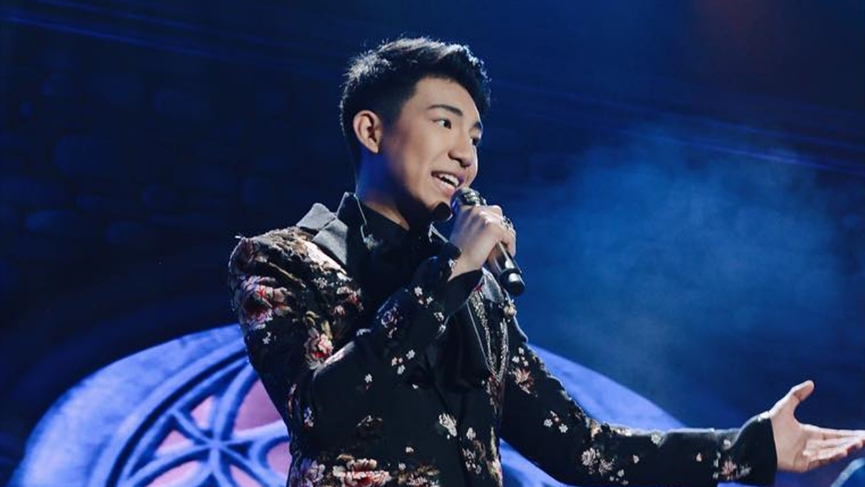 "WATCH: Darren Espanto performs on China's ""Singer 2019"""