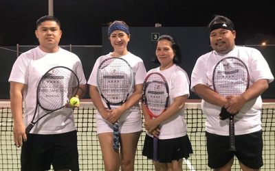 Week 1 results of Bahrain Filipino Tennis Tournament out