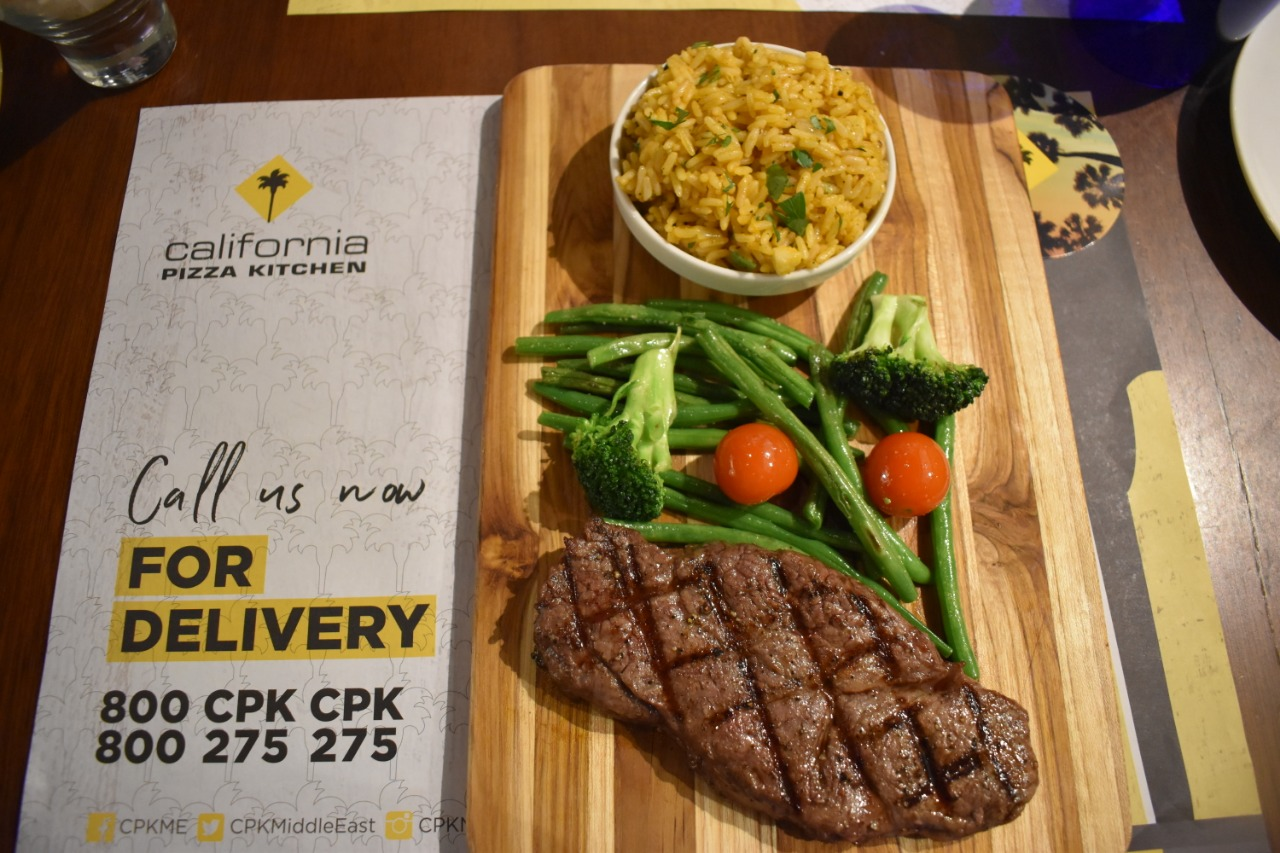 Savor Authentic Angus Steak For Dh 39 At California Pizza Kitchen The Filipino Times