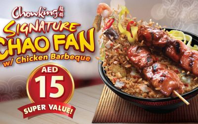 Chowking introduces delicious, affordable signature Chao Fan, Chicken Barbecue combo deal