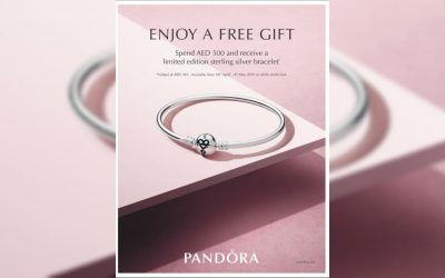 Reward yourself with a free gift from PANDORA this Mother's Day!