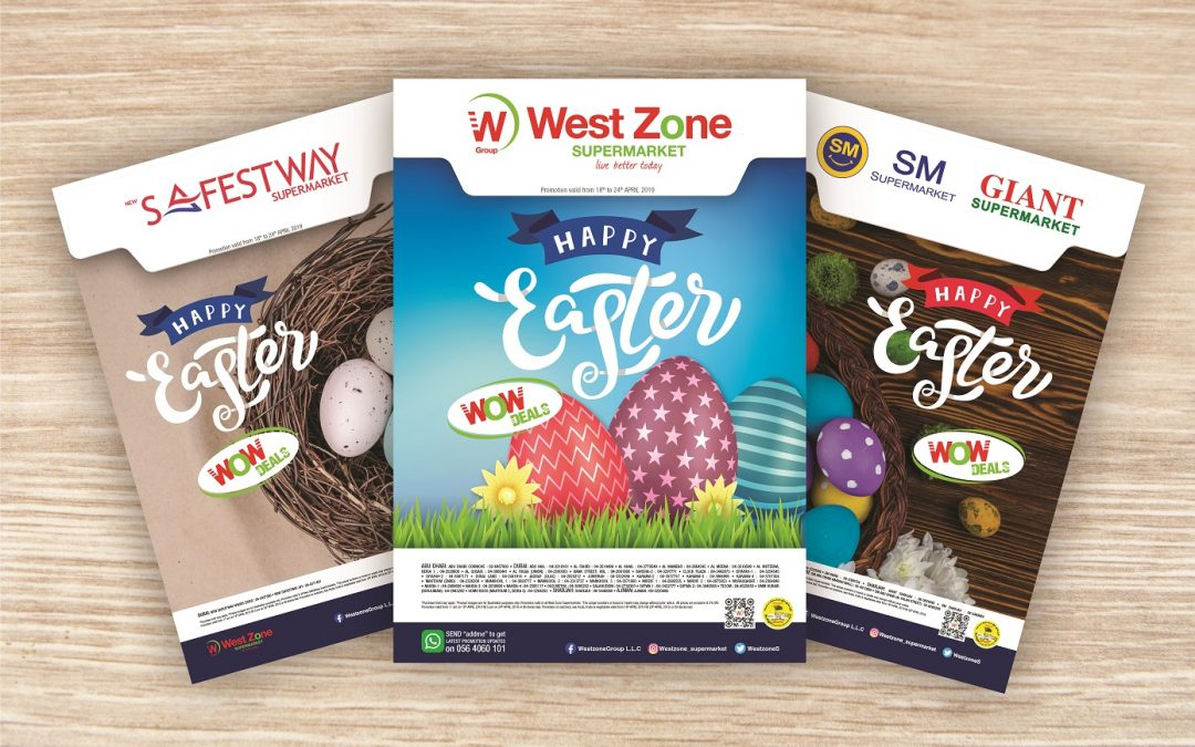 Find your Easter deals at West Zone Supermarkets