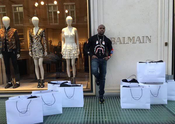 Mayweather skips Manila presscon to go shopping