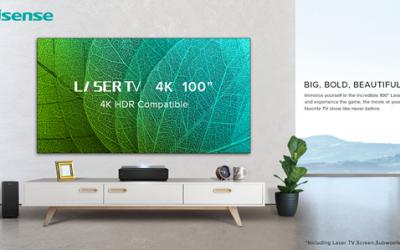 Hisense unveils 100-inch 4k UHD Laser TV in UAE
