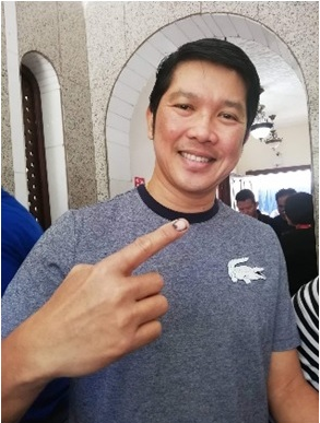 First voter in Jeddah PCG was an OFW from Zamboanga