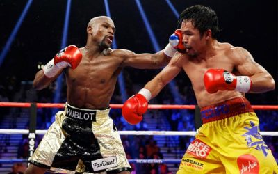 Mayweather vs. Pacquiao face-off for the second time – but there's a twist