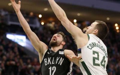 Three-pointer at 84 seconds pushes Net's playoff bid