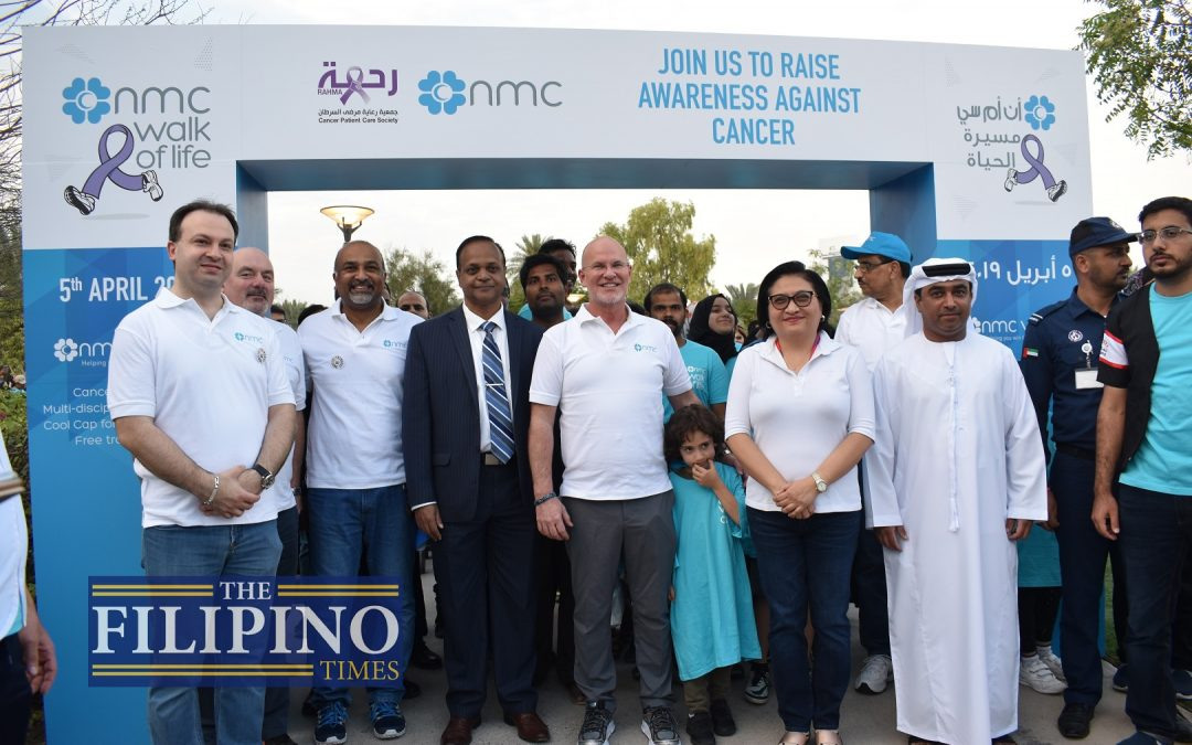 UAE residents unite against cancer at NMC's Walk of Life